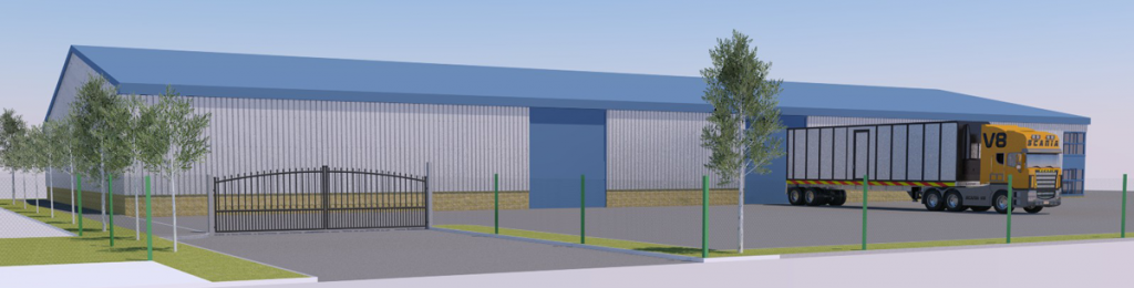 warehouse development
